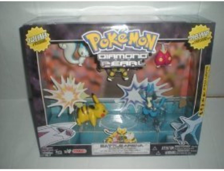 Pokemon Diamond & Pearl Value Pack with 6 Figures Electivire Lucario by Jakks