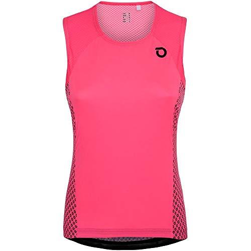 Briko Ultralight Lady Jersey NS Maillot Ciclismo Mujer, Fuchsia Bright Rose, M