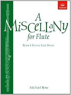 A Miscellany for Flute, Book I: (Eleven easy pieces)