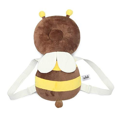 #N/V Cojín de protección de la cabeza del bebé bebé reposacabezas almohada bebé lactancia resistencia gota cojín lindo mochila Mat para bebé niños