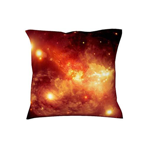 Charzee sterrenhemel print decent design hoofdkussenhoes sierkussen afdekking voor Home decoratie 18inch * 18inch polyester blend ruimte