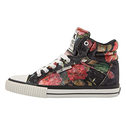 British Knights DEE Damen HIGH-TOP-Schuh Sneaker