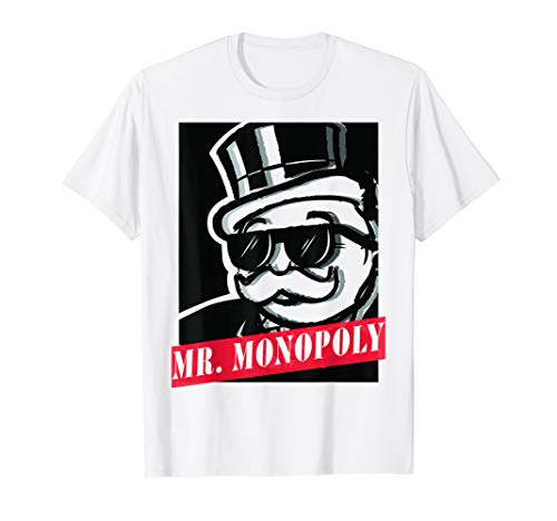 Monopoly Mr. Monopoly Graphic Poster T-Shirt