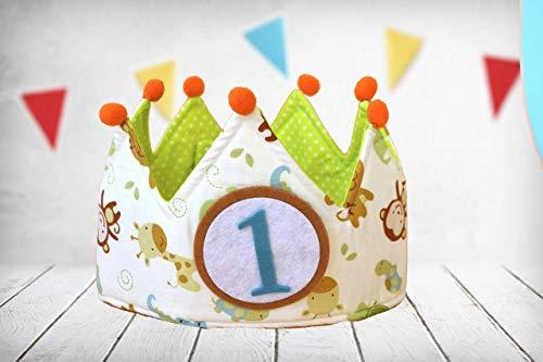 Corona cumpleaños Animales (Incluye todos los números) - Beneficios destinados a entidad sin ánimo de lucro