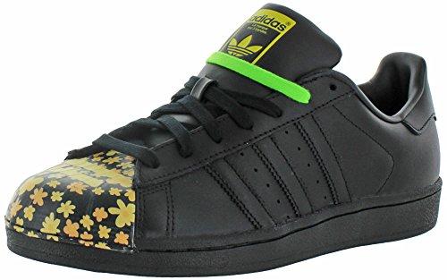 adidas Superstar Pharrell Williams Supershell Schuhe (10, Core-Schwarz/Schwarz/Schwarz (s83366))