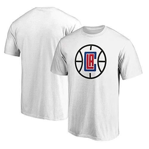T-Shirt NBA Los Angeles Clippers New Manches Mi-Longues Printemps Et D'été en Plein Air Vêtements De Sport pour Hommes J-L