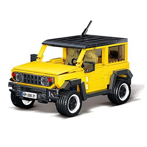 SEREIN Técnica Monster truck bloques de construcción coche 908 piezas 4x4 todoterreno Racer bloques de construcción coche juguete de construcción compatible con Lego Technic