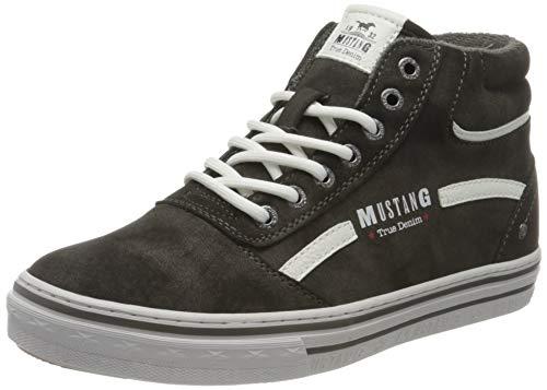MUSTANG Damen 1354-501-20 Sneaker Sneaker Dunkelgrau,41 EU