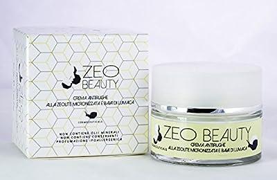 Crema viso antirughe peeling alla Zeolite e Bava di Lumaca Bio 50 ml from PAB Cosmetics
