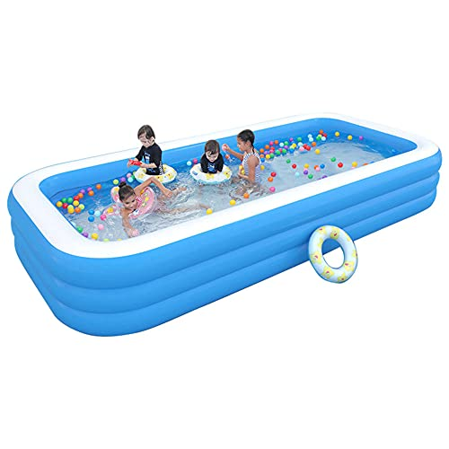 Child Paddling Pool,Padding Pool Swim Centre Pools for Kids Adults Family Indoor Outdoor Garden Toys Game Above Ground, Backyard Garden Summer Water Party