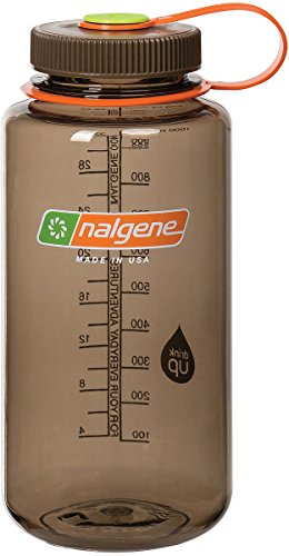 Nalgene Tritan Wide Mouth BPA-Free Water Bottle, Woodsman, 32 oz