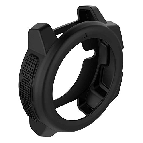 LICHIFIT Soft Silicone Protector Case Cover Shell Protected Case Protective Frame Skin for Garmin Instinct Smart Watch