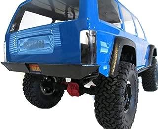 ScalerFab SCX10 II XJ Rear Bumper w/License Plate Recess