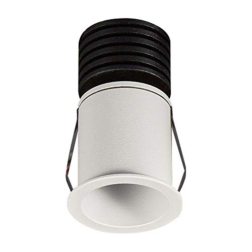 Inspired Mantra - Guincho - Foco Empotrable, LED 3W, 3000K, 210lm, Blanco Arena