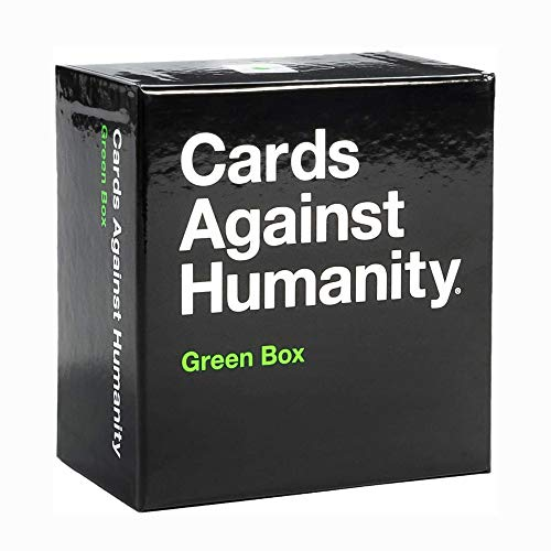 Wj Beyond The Game Juegos de Mesa Green Box Cards Against Humanity Game Expansión Divertida Juegos de Fiesta Locos Reunión Familiar Juegos de Naipes para Adultos jóvenes (Caja Verde)