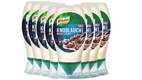 Knorr Grillsauce Chili Knoblauch Soße 250 ml (8 x 250 ml)