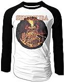 Camiseta de béisbol Sepultura Arise Raglan de manga larga para hombre