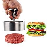 Yumoo Prensa para hamburguesas – Molde antiadherente para hacer hamburguesas para hacer empanadas de carne de res, cerdo, cordero, queso, nuez halal, verduras y hamburguesas vegetarianas para barbacoa