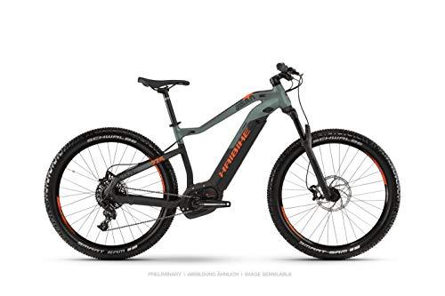 HAIBIKE 2019 Sduro HardSeven 8.0 - Bicicleta eléctrica (27,5''), Color Negro, Verde y Naranja, Color Olive/Carbon/Orange Matt, tamaño Extra-Large, tamaño...