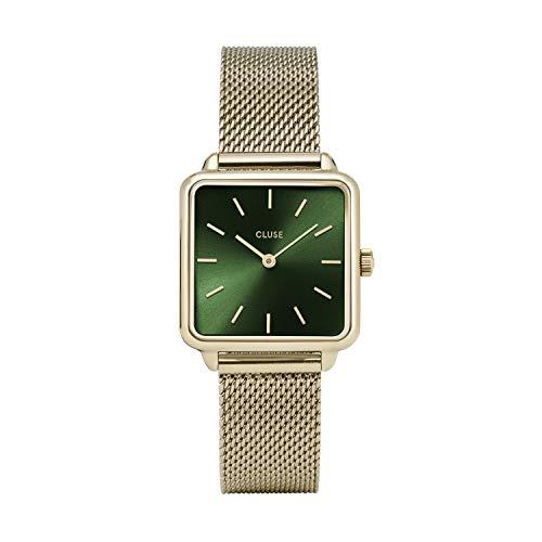Cluse Damen Analog Quarz Uhr mit Edelstahl Armband CL60014