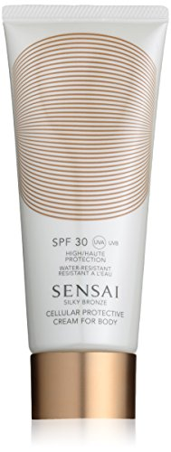 Kanebo Sensai Silky Bronze Cellular Protective Cream for Body SPF 30 Bräunungscreme, 150 ml