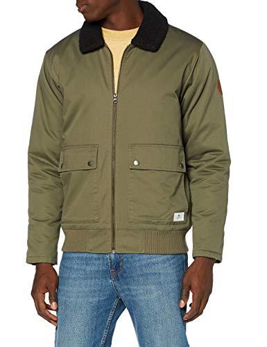 Quiksilver Herren Wasserabweisende Jacke Les Colines - Wasserabweisende Jacke für Männer, Kalamata, L, EQYJK03607