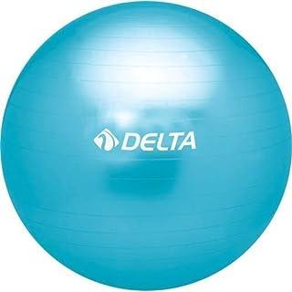 Delta Unisex Pilates Egzersiz Topu 75 Cm Ds 9969, Mavi, Tek Beden
