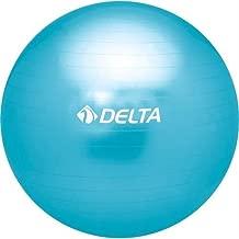 Delta Unisex Pilates Egzersiz Topu 65 Cm Ds 4865, Mavi, Tek Beden