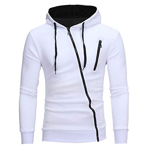 YDMZMS merk Autunno Moda casual sweatshirt met capuchon heren dames sweatshirt met capuchon pullover ritssluiting blouse maat L kleur 2