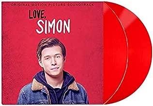 Various - Love, Simon Original Motion Picture Soundtrack Exclusive Limited Edition Red 2XLP Vinyl (With Bonus Poster) [Condition-VG+NM]