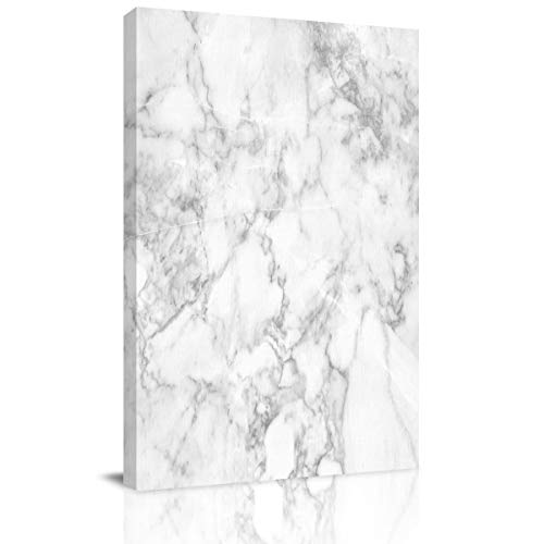 Big buy store Canvas Wall Art Picture Marble Simple Pattern Print On Canvas Giclee Artwork Cracked Lines and Hazy Stripes Home Office Decorations Wall Decor Ready to Hang - 28x20 inches
