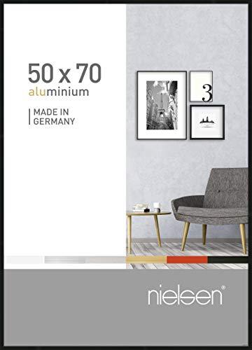 Nielsen Aluminium Bilderrahmen Pixel, 50x70 cm, Schwarz