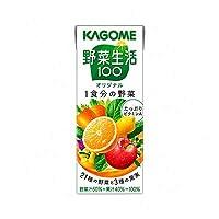 カゴメ 野菜生活100 オリジナル 200ml x 12本