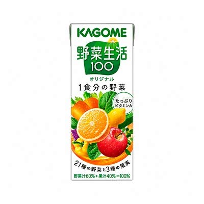 野菜生活100 オリジナル 200ml×48本 紙パック