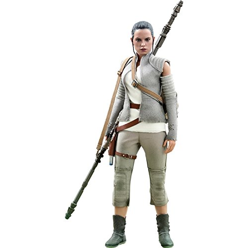 Hot Toys Star Wars Episode VII The Force Awakens Rey (Resistance Outfit) 1/6 Scale Figure -  HT902774