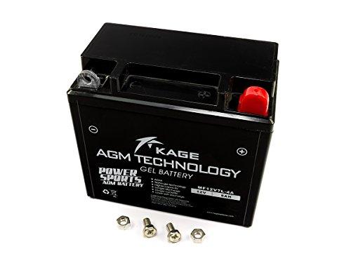 GEL Batterie KAGE 12N7-3B / 12N9-3B / YB9L-A2 / YB9L-B 8AH für Derbi Hercules Hyosung Kawasaki Kreidler MBK MZ/MUZ TGB