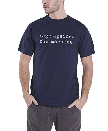 Rage Against The Machine T Shirt Original Band Logo Nuevo Oficial de los Hombres