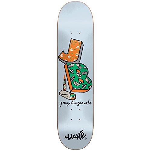 Cliche Skateboard-10026495Routine Deck, Joey brzeziński, Größe 20,64
