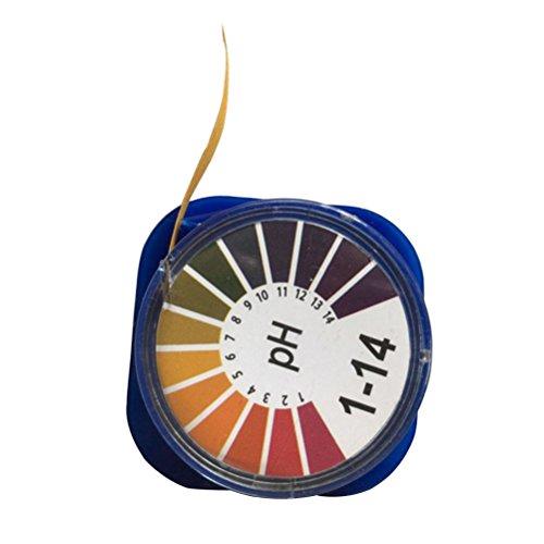 ueetek Bändern Test Papier, Universal pH Rolle Vollständige Palette 1–14Streifen Papier Test pH Indikator Papier Test Sonnenblume