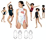 JALIE 3910 - Jade High Neck Halter Leotards - Sewing Pattern for Children and Adults