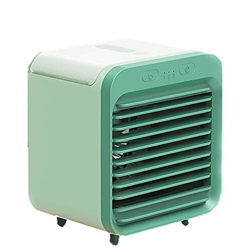 JONJUMP Ventilador portátil mini USB recargable ventilador ventilador de refrigeración de aire humidificador purificador para oficina dormitorio