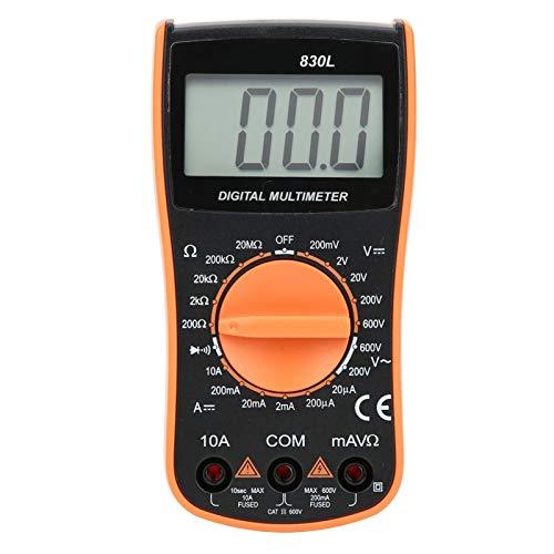 Voltímetro de instrumento de medida multímetro para equipos eléctricos con línea de...