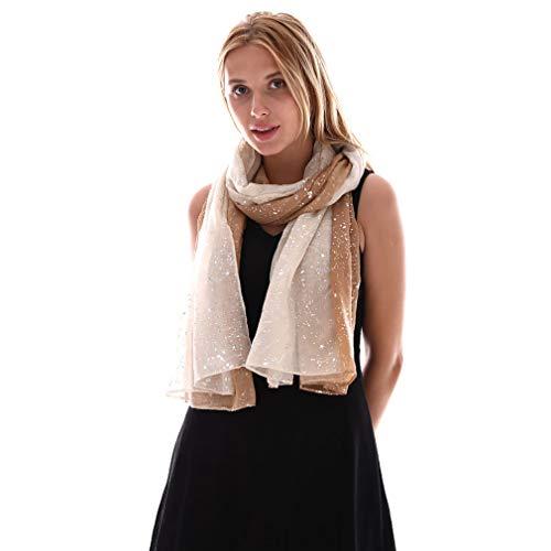 KAVINGKALY Blend Omber pour femmes - Foulards en mousseline de soie doux à la mode légère