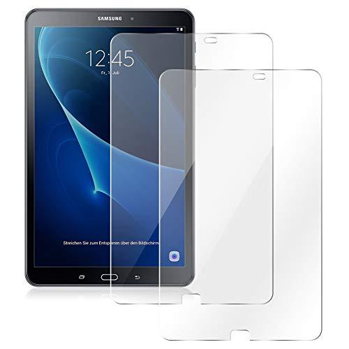 UC-Express Schutzfolie passend für Samsung Galaxy Tab A6 10.1 2016 Bildschirmschutz 2X Folie Panzerfolie