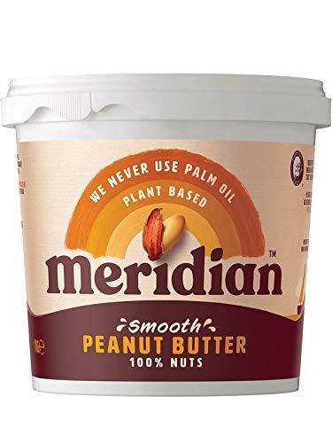 Meridian Smooth Peanut Butter No Salt 1000g
