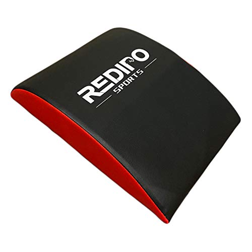 Redipo Abdominal Mat Ab Exercise Mat Lower Back Support- Sit Up Pad - Core Trainer Mat for Men & Women Strengthening and Shaping Comprehensive Ab Workouts