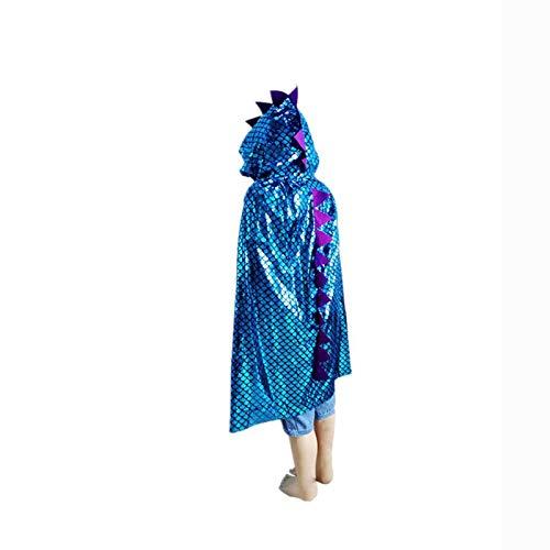 BJ-SHOP Dinosaurier Umhang Drachen Kostüm für Kinder Kids Fancy Dress Party Favor Geschenke