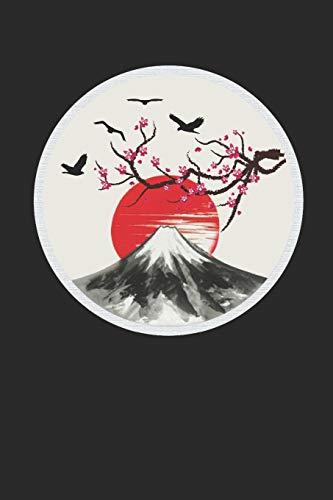 Sakura: A5 120 Seiten Liniert I Notizbuch für Japanliebhaber I Kirschblütenfest I Hanami