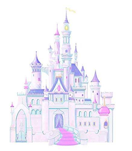 "Disney""Cinderella"" Princess Castle Wall Decal Cutout 31""x42"""
