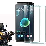 2 Pack - HTC Desire 12 Plus / Desire 12+ Panzerglas, FoneExpert® Gehärtetem Schutzfolie Glasfolie Hartglas Panzerfolie Bildschirmschutzfolie für HTC Desire 12 Plus / Desire 12+